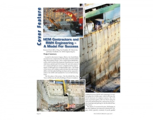 Clipping from Foundation Drilling Magazine April 2015