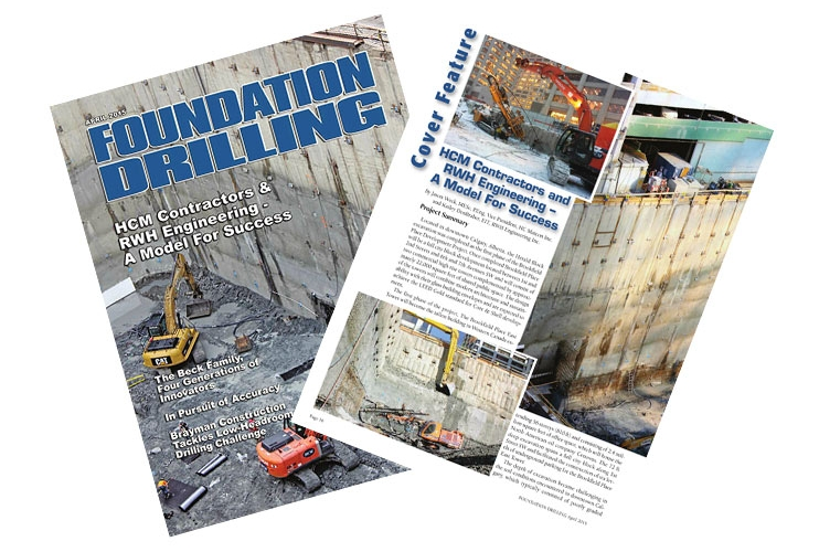 Foundation Drilling Magazine April 2015