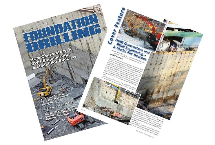 Foundation Drilling Magazine April 2015