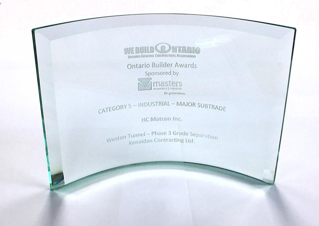Ontario Builder Award