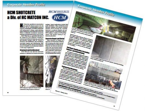 HCM Shotcrete Profile – Shotcrete Magazine