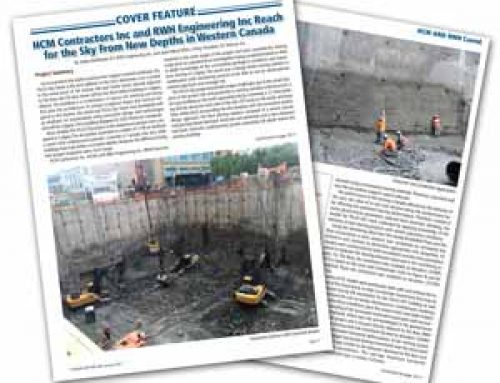HCM Contractors Inc and RWH Engineering Inc Reach for the Sky From New Depths in Western Canada